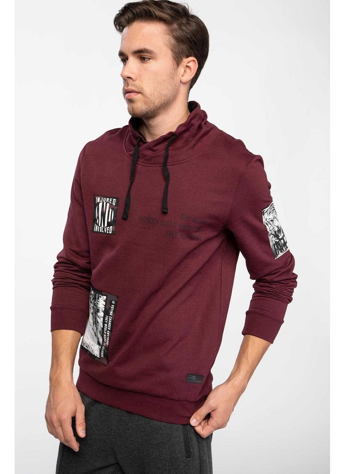 Defacto Degaje Yaka Sweatshirt J2954az18wnbr34 Sweatshirt – 69.99 TL